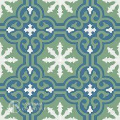 Gạch bông CTS 1.1(1-4-7)-4 viên - Encaustic cement tile CTS 1.1(1-4-7)-4tiles