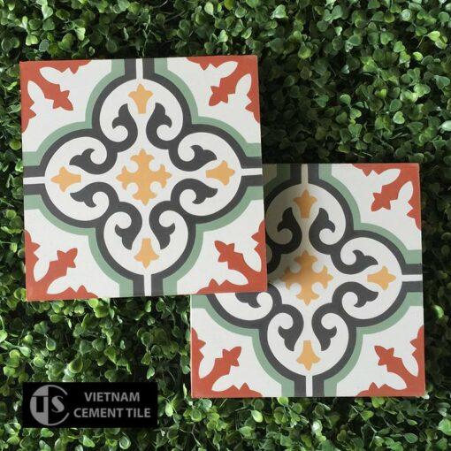 Gạch bông CTS 1.4(4-5-6-7-13) - Encaustic cement tile CTS 1.4(4-5-6-7-13)