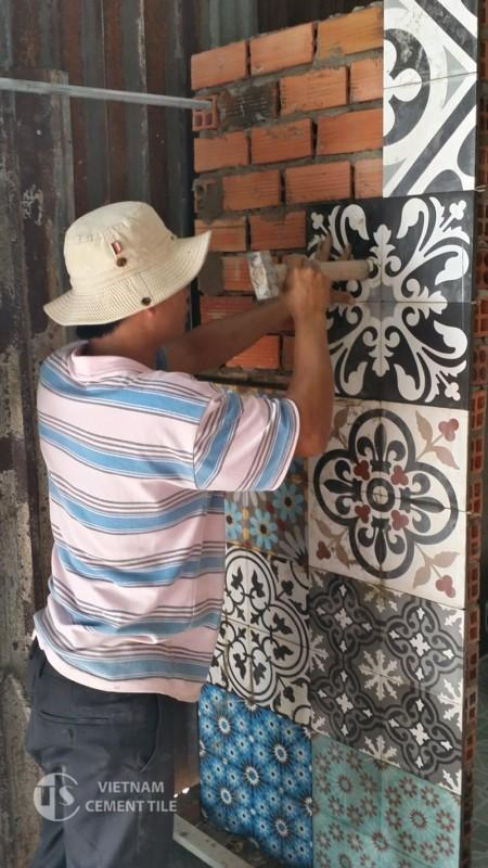 Gạch Bông Đà Nẵng Hướng dẫn sử dụng gạch bông