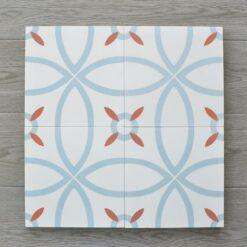 Gạch bông CTS 38.1(4-16-30) - Encaustic cement tile CTS 38.1(4-16-30)