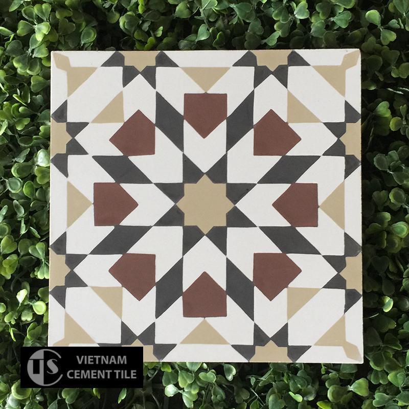 Gạch bông CTS 56.1(4-13-52-60) - Encaustic cement tile CTS 56.1(4-13-52-60)