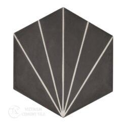 Encaustic cement tile Hexagon CTS 402.1