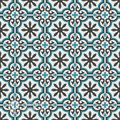 Gạch bông CTS 1.2(4-13-57)-16 viên - Encaustic cement tile CTS 1.2(4-13-57)-16tiles