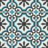 Gạch bông CTS 1.2(4-13-57)-4 viên - Encaustic cement tile CTS 1.2(4-13-57)-4tiles