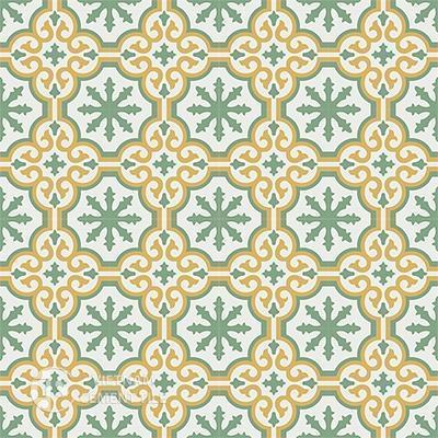 Gạch bông CTS 1.3(4-6-7)-16 viên - Encaustic cement tile CTS 1.3(4-6-7)-16tiles