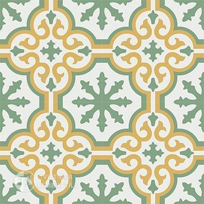 Gạch bông CTS 1.3(4-6-7)-4 viên - Encaustic cement tile CTS 1.3(4-6-7)-4tiles