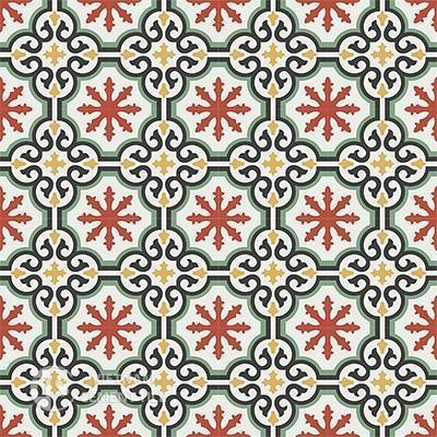 Gạch bông CTS 1.4(4-5-6-7-13) - 16 viên - Encaustic cement tile CTS 1.4(4-5-6-7-13)-16tiles