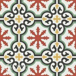 Gạch bông CTS 1.4(4-5-6-7-13) - 4 viên - Encaustic cement tile CTS 1.4(4-5-6-7-13)-4tiles