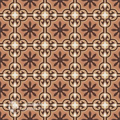 Gạch bông CTS 1.5(4-11-37-60)-16 viên - Encaustic cement tile CTS 1.5(4-11-37-60)-16tiles