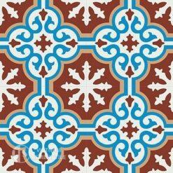 Gạch bông CTS 1.6(4-8-11-30)- 4 viên - Encaustic cement tile CTS 1.6(4-8-11-30)-4tiles