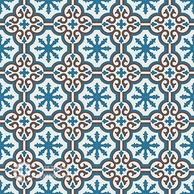 Gạch bông CTS 1.8(4-10-14)-16 viên - Encaustic cement tile CTS 1.8(4-10-14)-16tiles