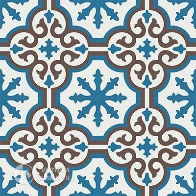 Gạch bông CTS 1.8(4-10-14)-4 viên - Encaustic cement tile CTS 1.8(4-10-14)-4tiles