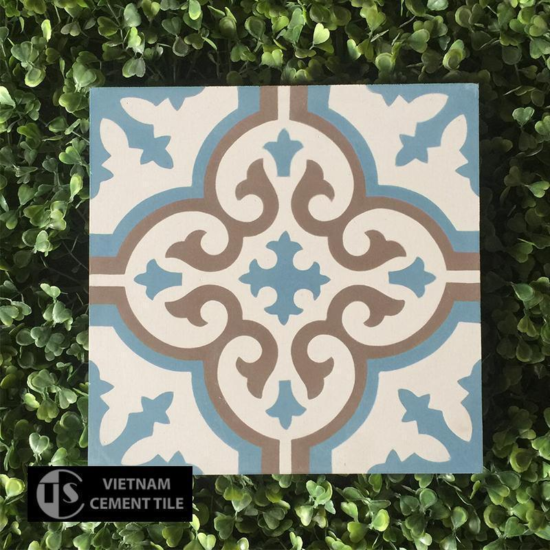 Gạch bông CTS 1.8(4-10-14) - Encaustic cement tile CTS 1.8(4-10-14)