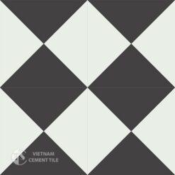 Gạch bông CTS 14.1(4-13) - 4 viên - Encaustic cement tile CTS 14.1(4-13)-4 tiles