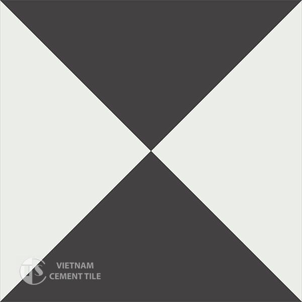 Gạch bông CTS 14.1(4-13) - Encaustic cement tile CTS 14.1(4-13)