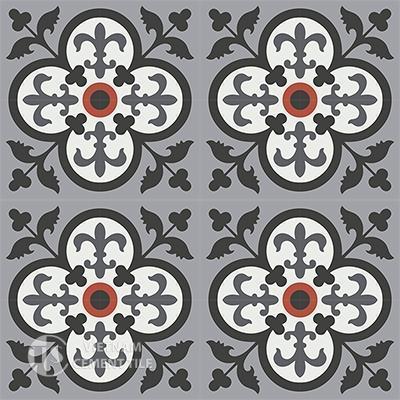Gạch bông CTS 15.1(4-5-13-9-32)- 16 viên - Encaustic cement tile CTS 15.1(4-5-9-13-32)-16tiles
