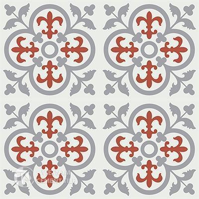 Gạch bông CTS 15.2(4-5-9)-16 viên - Encaustic cement tile CTS 15.2(4-5-9)-16 tiles