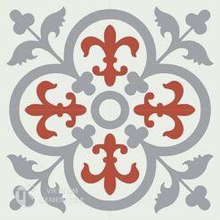 Gạch bông CTS 15.2(4-5-9)-4 viên - Encaustic cement tile CTS 15.2(4-5-9)-4tiles