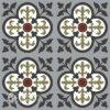 Gạch bông CTS 15.3(4-9-13-30-52)- 16 viên- Encaustic cement tile CTS 15.3(4-9-13-30-52))-16 tiles