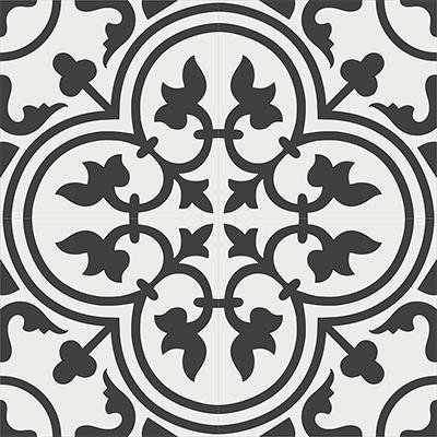 Gạch bông CTS 2.1(4-13)- 4 viên - Encaustic cement tile CTS 2.1(4-13)-4tiles