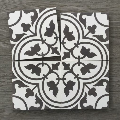 Gạch bông CTS 2.1(4-13) - Encaustic cement tile CTS 2.1(4-13)