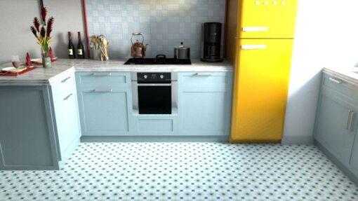 Gạch bông CTS 3.2 lát nền nhà bếp