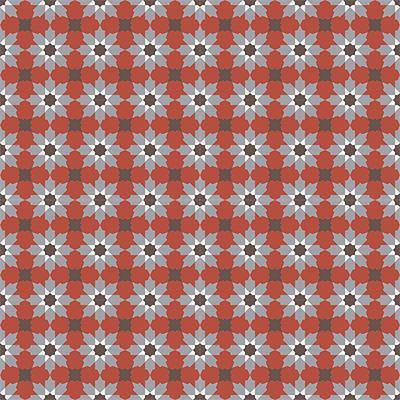 Gạch bông CTS 3.4(4-5-9-14)- 16 viên - Encaustic cement tile CTS 3.4(4-5-9-14)-16 tiles