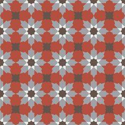 Gạch bông CTS 3.4(4-5-9-14)- 4 viên - Encaustic cement tile CTS 3.4(4-5-9-14)-4 tiles