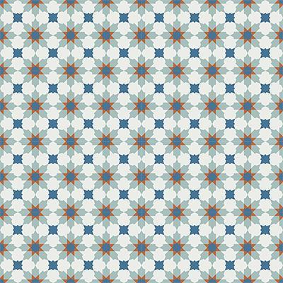 Gạch bông CTS 3.5(1-4-143-145)-16 viên - Encaustic cement tile CTS 3.5(1-4-143-145)-16tiles