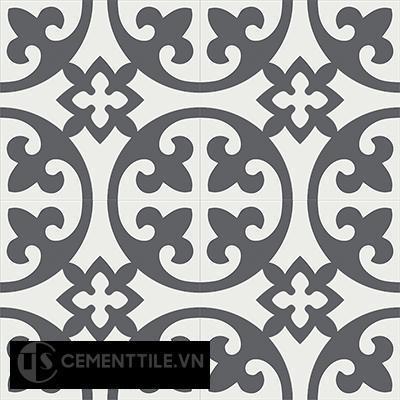 Gạch bông CTS 4.1(4-32)- 4 viên - Encaustic cement tile CTS 4.1(4-32)-4tiles