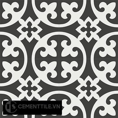Gạch bông CTS 4.2(4-13) - 4 viên - Encaustic cement tile CTS 4.2(4-13)-4 tiles
