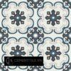 Gạch bông CTS 5.1(1-2-13-50) – 16 viên – Encaustic cement tile CTS 5.1(1-2-13-50) – 16 tiles