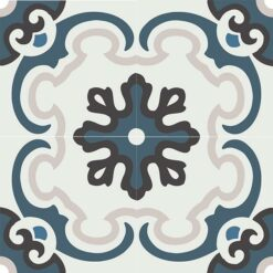 Gạch bông CTS 5.1(1-4-13-50) - 4 viên - Encaustic cement tile CTS 5.1(1-4-13-50) - 4 tiles