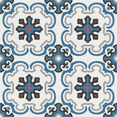 Gạch bông CTS 5.2(1-4-5-9-13)-16 viên - Encaustic cement tile CTS 5.2(1-4-5-9-13)-16tiles