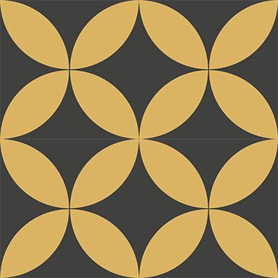 Gạch bông CTS 7.1(6-13) - 4 viên - Encaustic cement tile CTS 7.1(6-13)-4 tiles