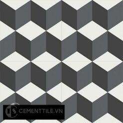 Gạch bông CTS 8.1(4-13-32) - 4 viên - Encaustic cement tile CTS 8.1(4-13-32)-4tiles