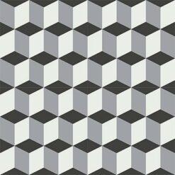 Gạch bông CTS 9.1(4-9-13)-4 viên - Encaustic cement tile CTS 9.1(4-9-13)-4 tile