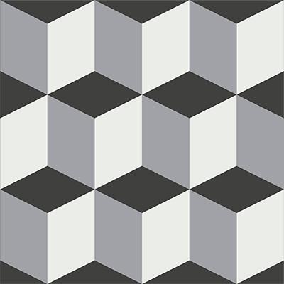 Gạch bông CTS 9.1(4-9-13) - Encaustic cement tile CTS 9.1(4-9-13)