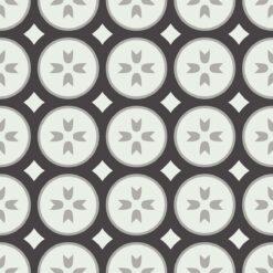 Gạch bông CTS 0.1(4-9-13) - 4 viên - Encaustic cement tile CTS 0.1(4-9-13) - 4 tiles