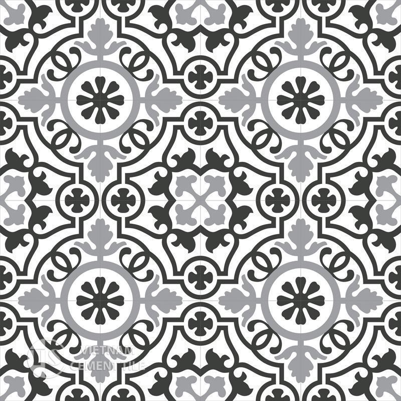 Encaustice cement tile CTS Motif 6
