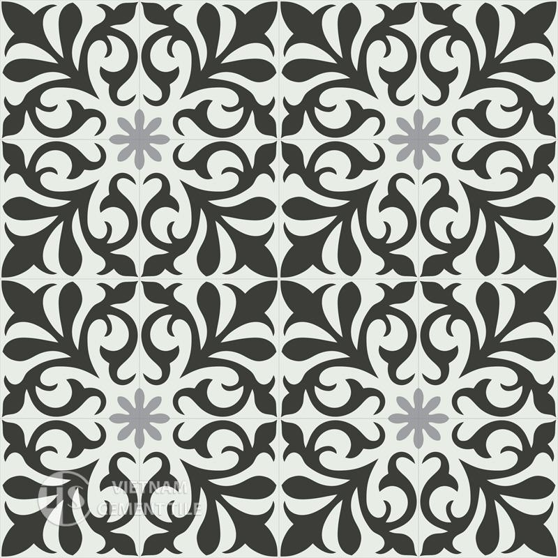 Encaustice cement tile CTS Motif 7