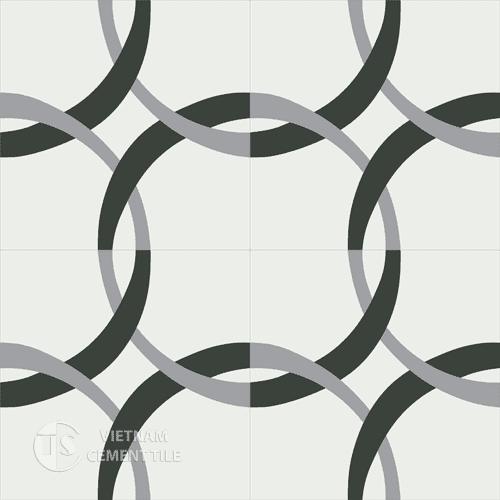 Encaustic cement tile CTS