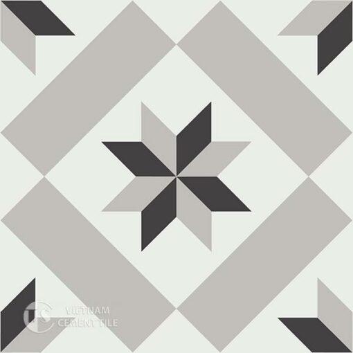 Gạch bông CTS 11.1(4-9-13) - Encaustic cement tile CTS 11.1(4-9-13)