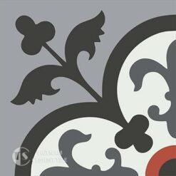 Gạch bông CTS 15.1(4-5-13-9-32) - Encaustic cement tile CTS 15.1(4-5-9-13-32)