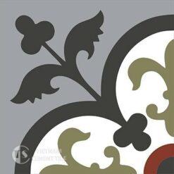Gạch bông CTS 15.3(4-9-13-30-52)) - 4 viên - Encaustic cement tile CTS 15.3(4-9-13-30-52))