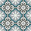 Gạch bông CTS 1.10(4-9-13-57)-4 viên - Encaustic cement tile CTS 1.10(4-9-13-57)-4tiles