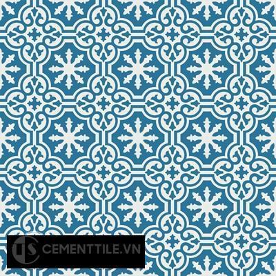 Gạch bông CTS 1.71(4-10) - Encaustic cement tile CTS 1.71(10-4)-16tiles