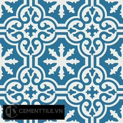 Gạch bông CTS 1.71(4-10) - Encaustic cement tile CTS 1.71(10-4)-4tiles