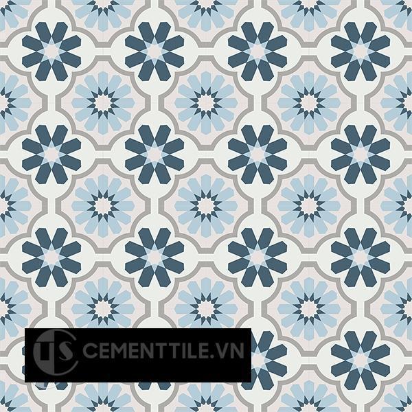 Gạch bông CTS 16.3(1-2-4-9-54)-16 viên - Encaustic cement tile CTS 16.3(1-2-4-9-54)-16 tiles