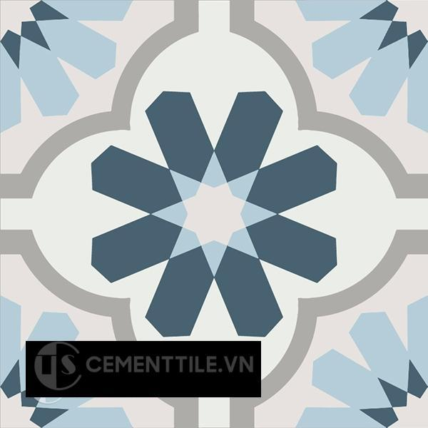 Gạch bông CTS 16.3(1-2-4-9-54) - Encaustic cement tile CTS 16.3(1-2-4-9-54)